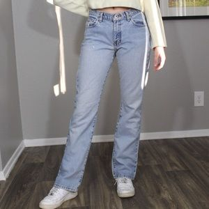 Calvin Klein Jeans - Vintage #y2k light wash low waisted jeans🦋